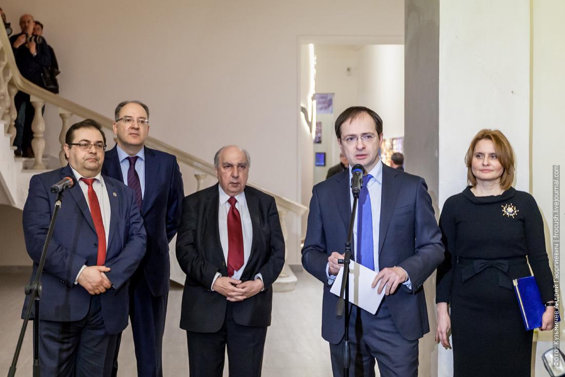 Министр культуры Российской Федерации Владимир Мединский