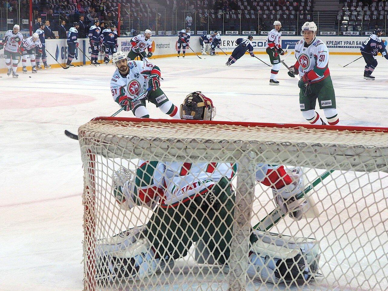 12 Первая игра финала плей-офф восточной конференции 2017 Металлург - АкБарс 24.03.2017