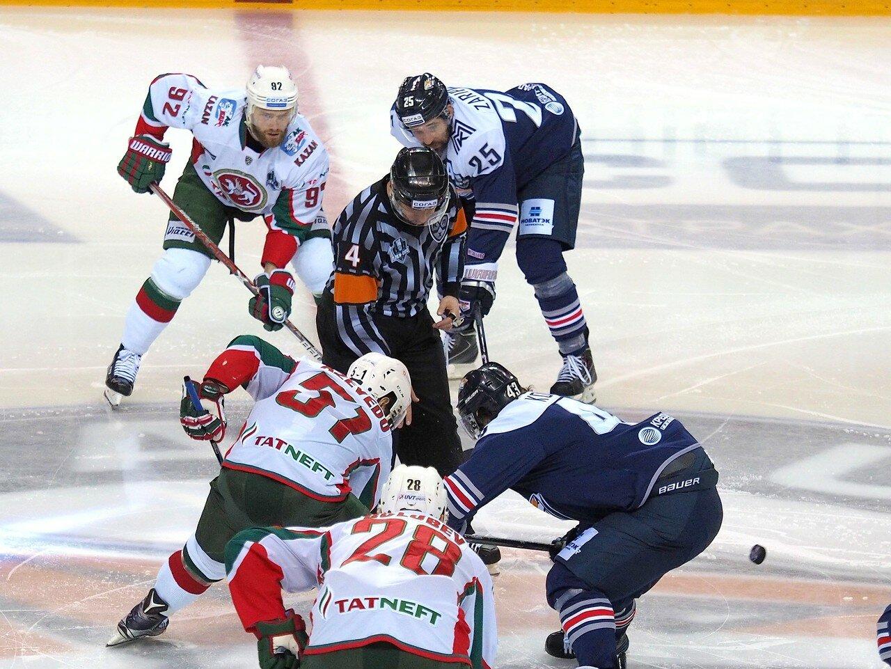 35 Первая игра финала плей-офф восточной конференции 2017 Металлург - АкБарс 24.03.2017