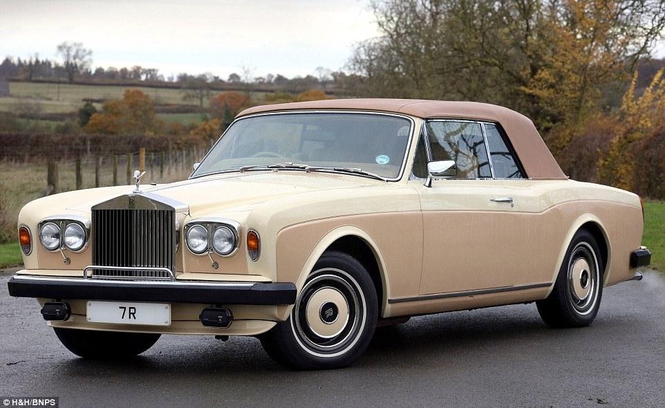 Коллекцию люксовых авто изъяли у ближневосточного шейха и продадут с аукциона