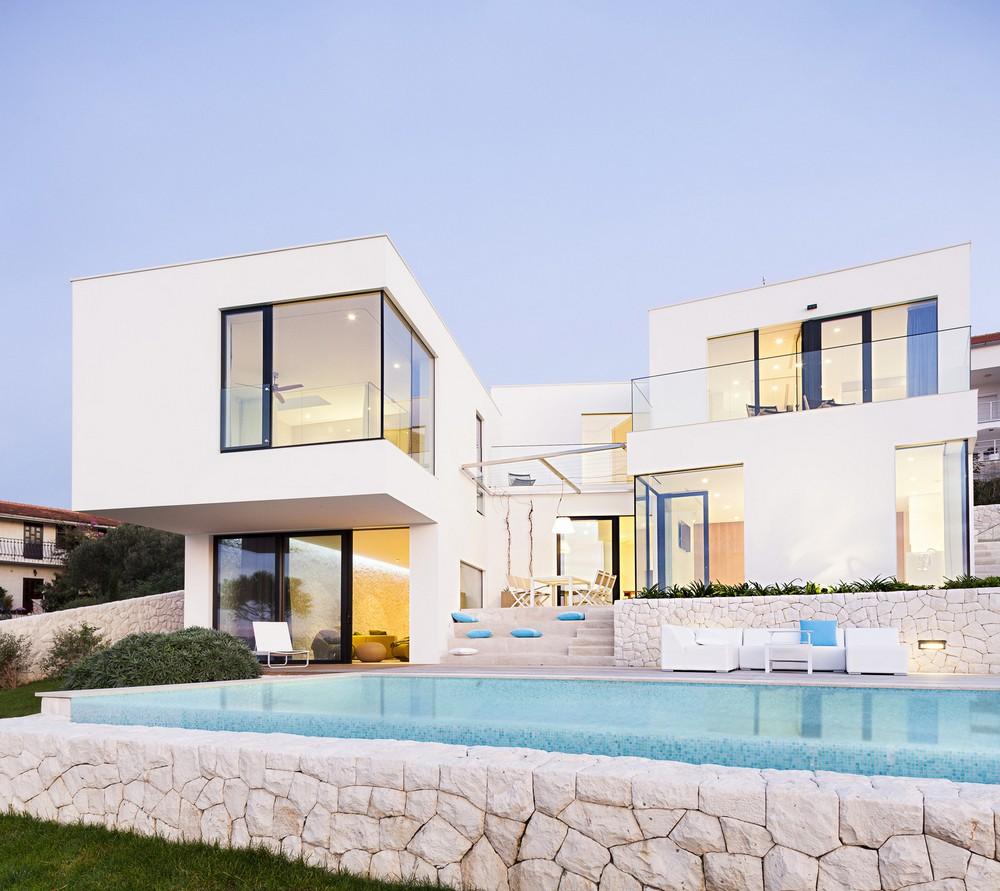 Резиденция на берегу моря в Хорватии