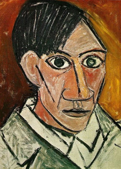 автопортрет Пабло Пикассо