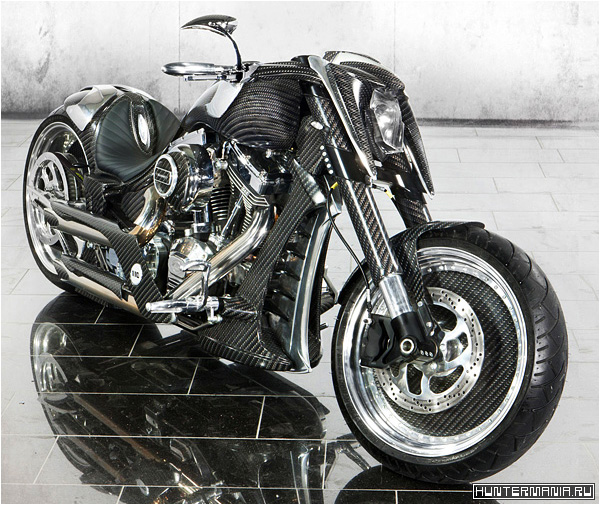 Дорогой карбоновый байк Mansory Zapico Custom Bike