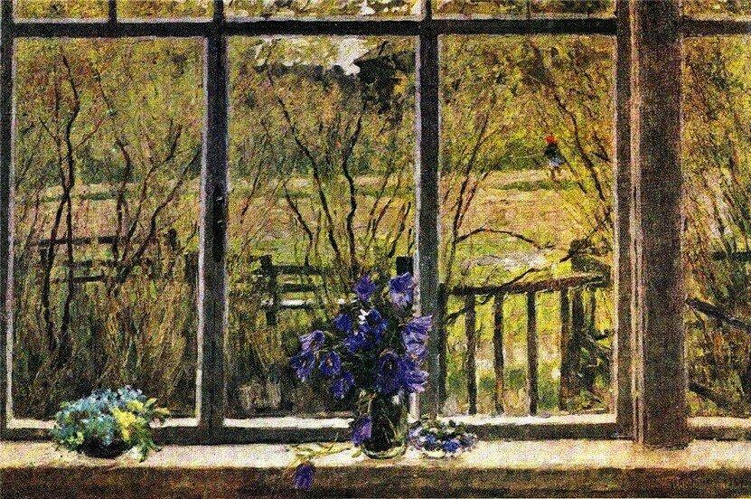 Тутунов Андрей Весеннее окно