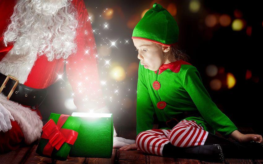Новый год, фото, сказка, чудо, дети, подарки