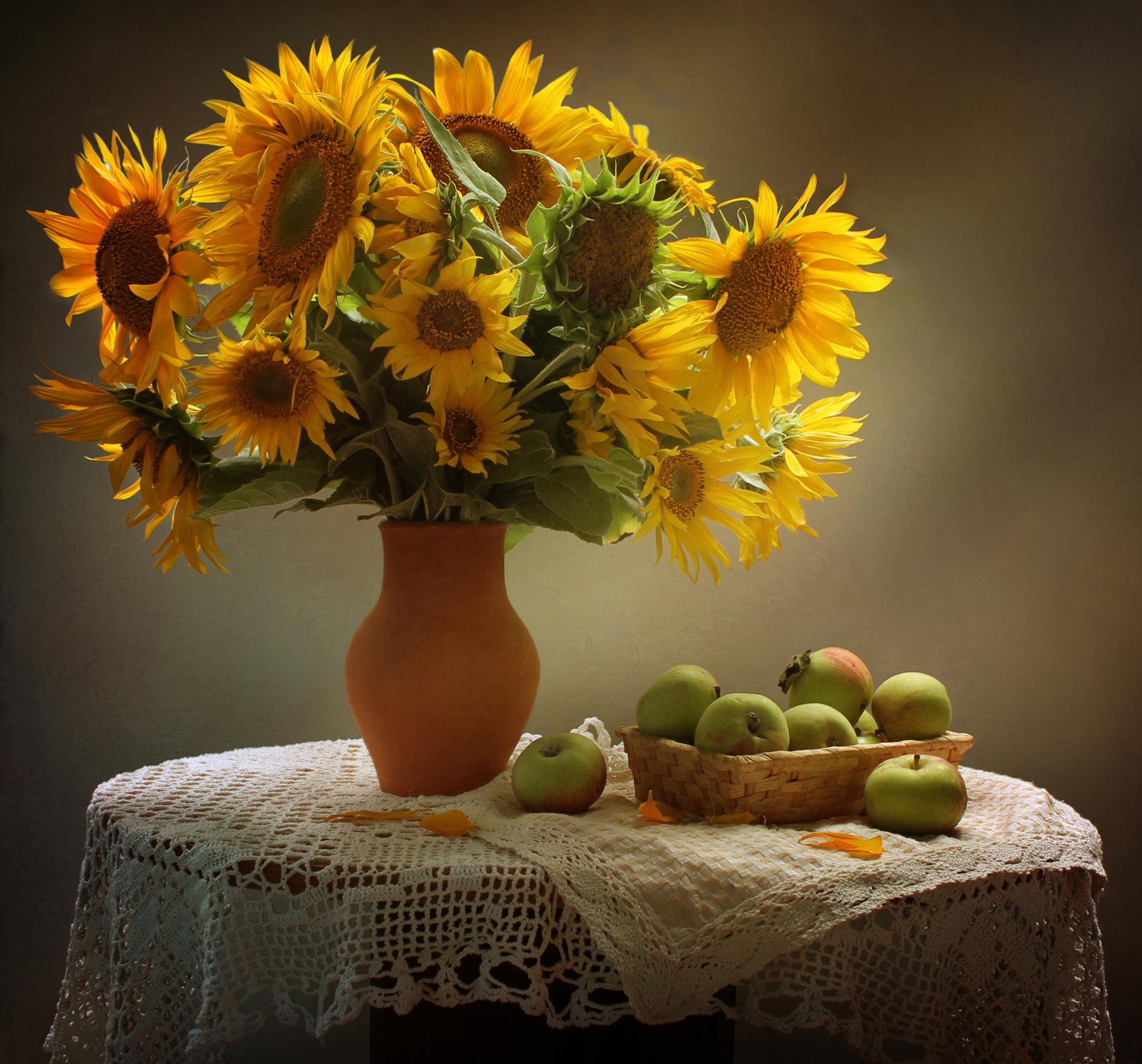 Солнечное-подсолнечное - для Алены ( alena.shybko) в день рождения
