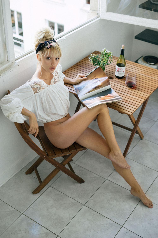 Полин Бэйли в Париже - Pauline Baly by Jen Senn