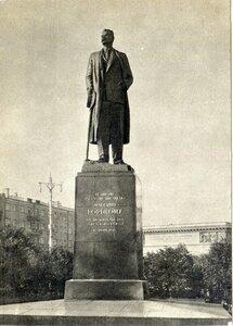 И.Д. Шадр (1887-1941) и В.И. Мухина (1889-1953) Памятник А.М. Горькому, 1951. Москва, площадь Белорусского вокзала. 1959, 20 тыс.jpg