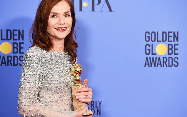 Изабель Юппер на церемонии вручения наград премии Золотой глобус в Лос-Анджелесе