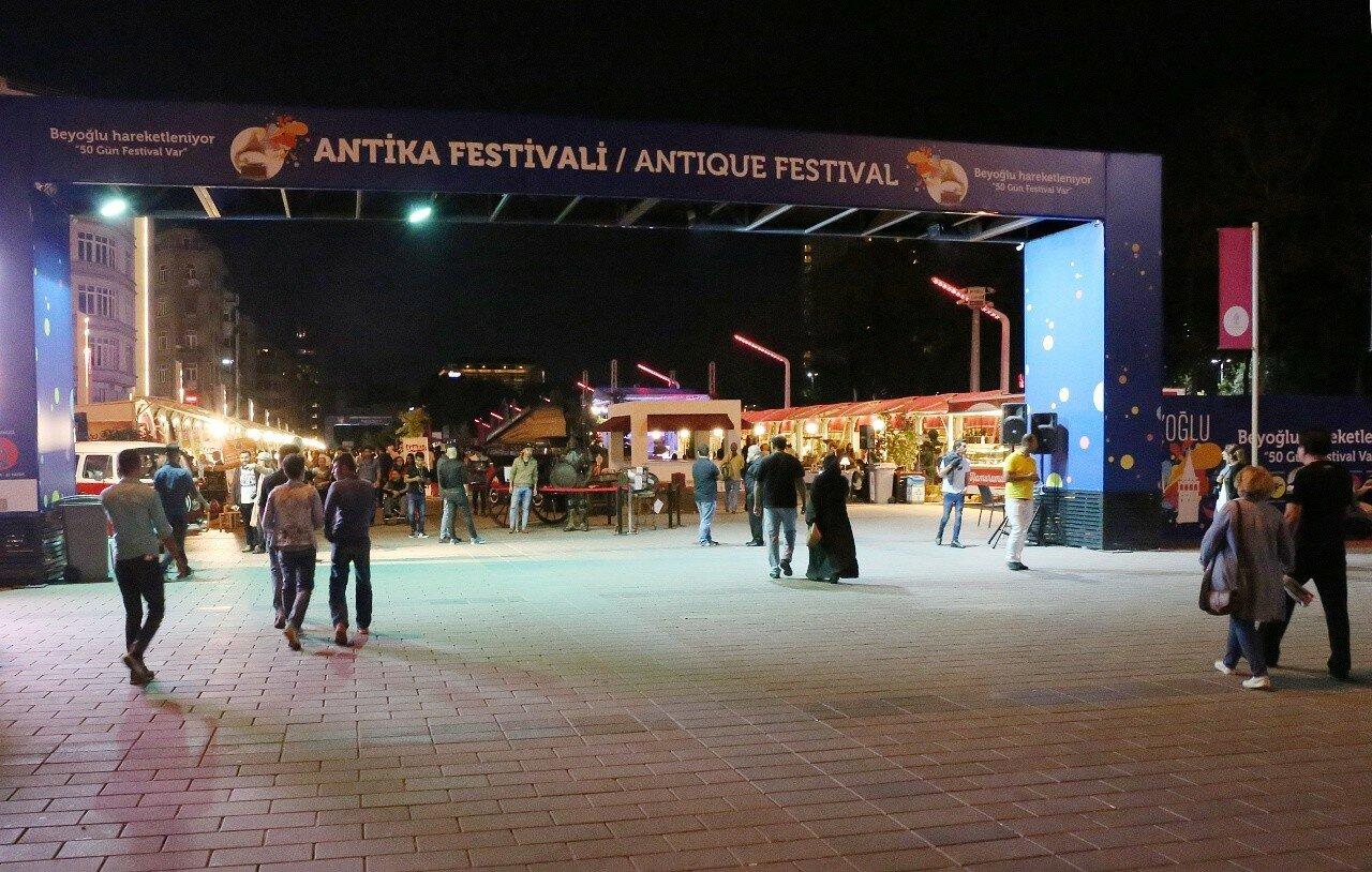 Стамбул. Фестиваль антиквариата