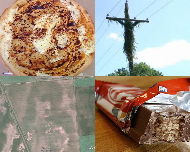 Образы Иисуса Христа и других религиозных фигур в повседневных вещах