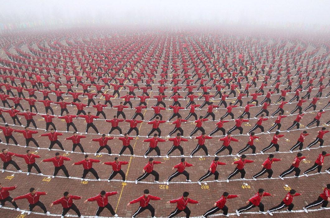 Студенты города Хэнань.