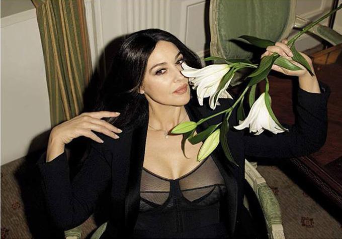 Моника Беллуччи в GQ Italia
