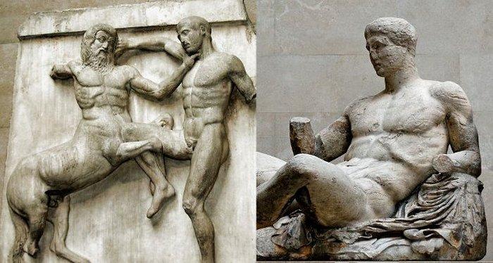 Спорные артефакты Ментора. По поводу данных артефактов до сих пор идут споры между Грецией и Великоб