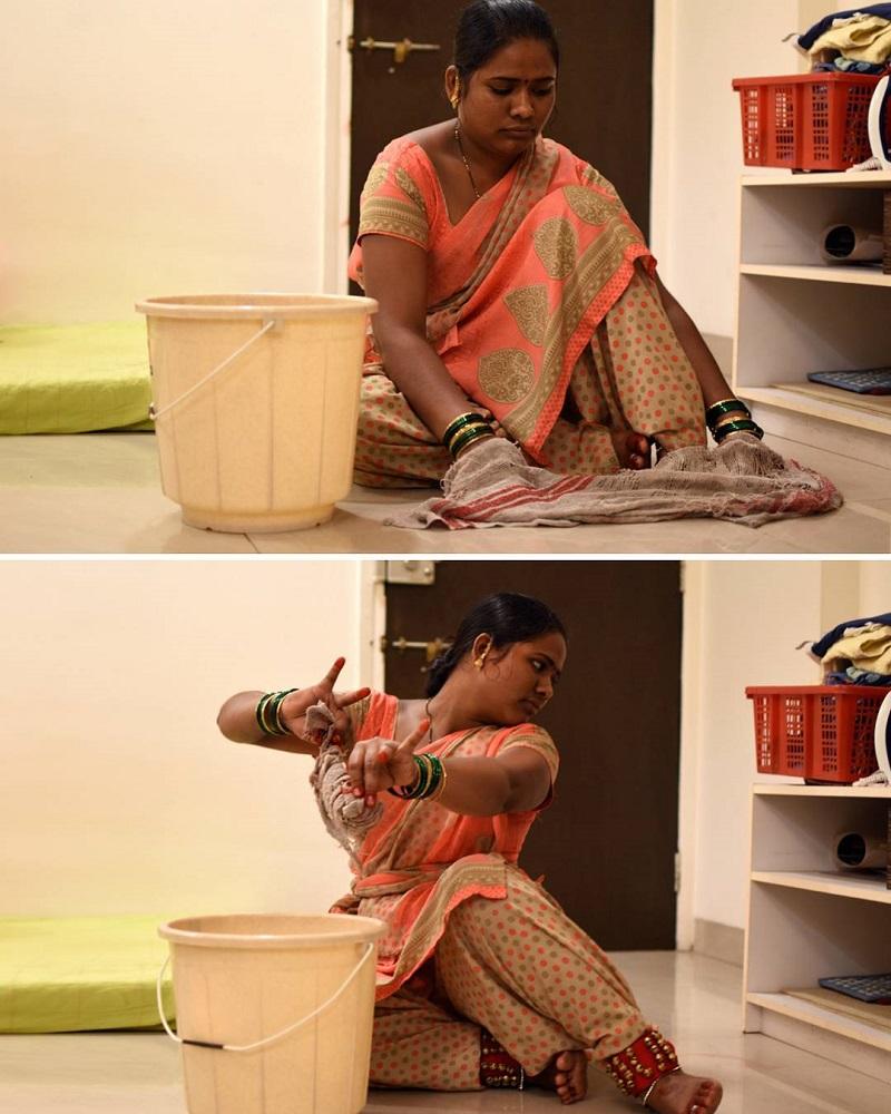 6. Душа лежит к художеству, но он — водитель Рикши. (Вид повозки).