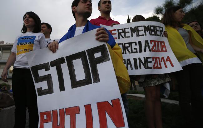 Неменее 70 стран: помиру прокатилась акция «Stop Putin— Stop War»