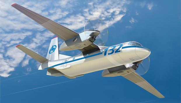 Порошенко презентовал основанный без русских деталей Ан-132D