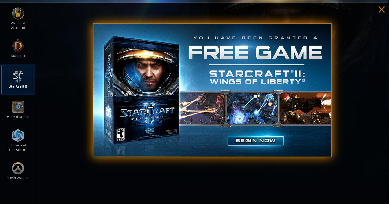 Blizzard бесплатно раздает StarCraft 2: Wings of Liberty