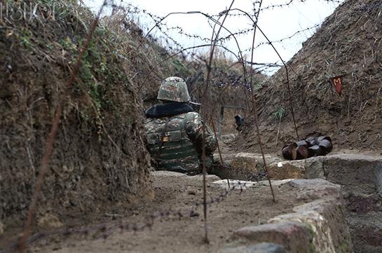 Минобороны Арцаха передает огранатометном иминометном обстреле состороны Азербайджана