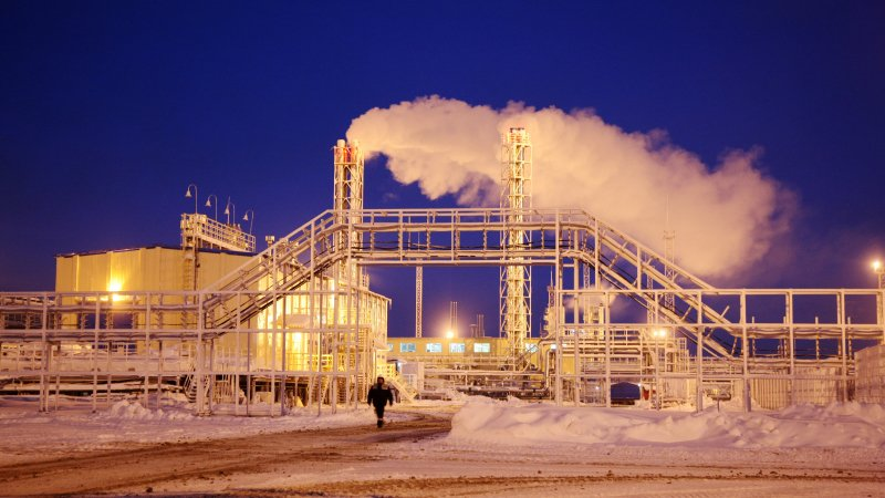 Объявили аукцион направо пользования Гыданским месторождением газа