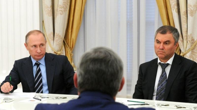 Путин приедет вСанкт-Петербург для встречи счленами Совета законодателей РФ