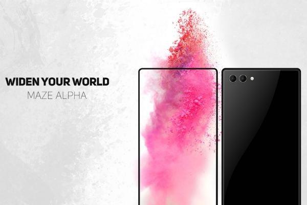 Бюджетный Maze Alpha опередит iPhone 8 и Самсунг Galaxy S8