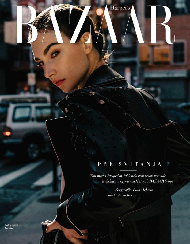 Before Sunrise: Jacquelyn Jablonski Stars in Harper's Bazaar Serbia (7 pics)