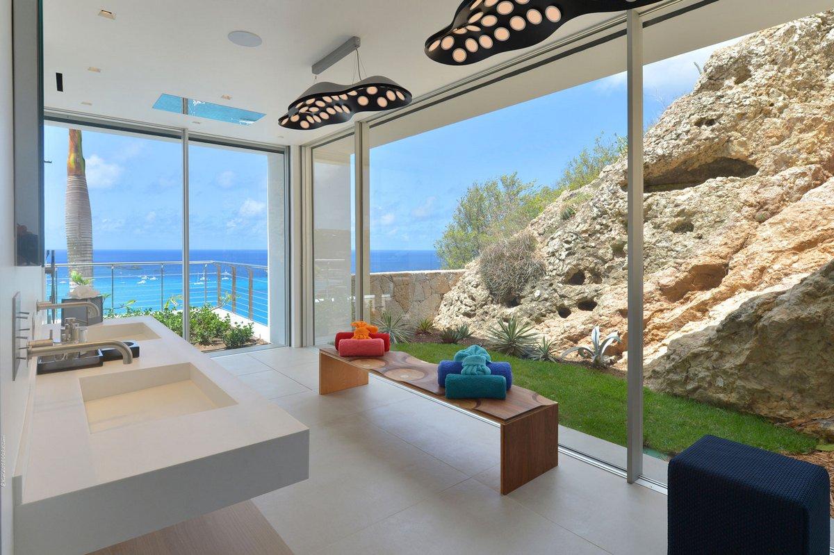 Панорамное остекление ванной