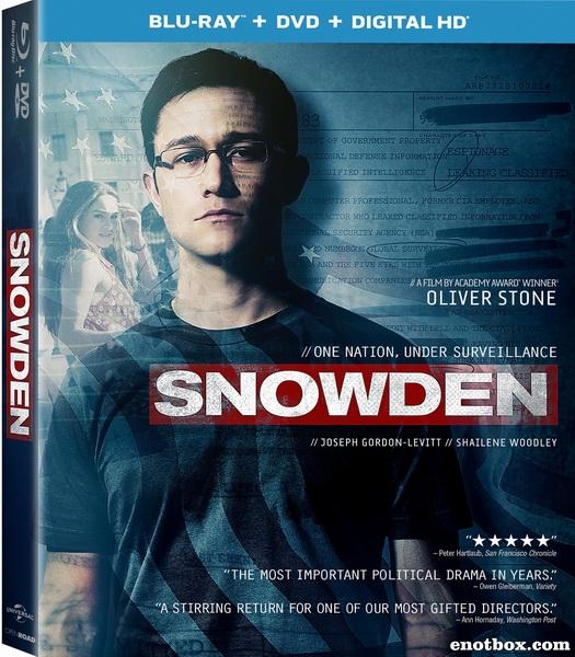 Сноуден / Snowden (2016/BDRip/HDRip)