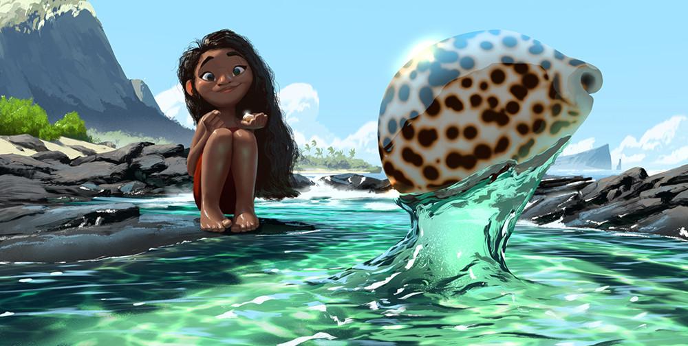 Disney's Moana Concept Art by Ryan Lang