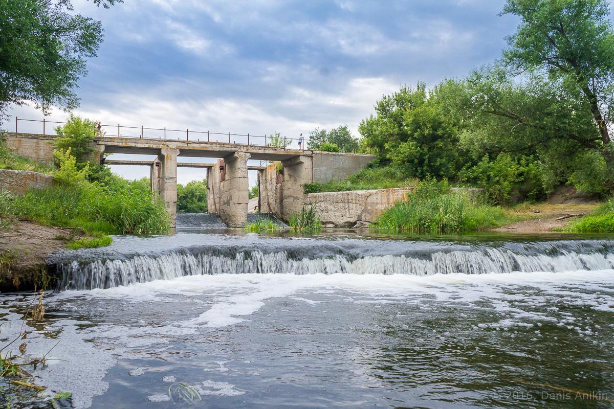Калининск река Баланда плотина фото 12