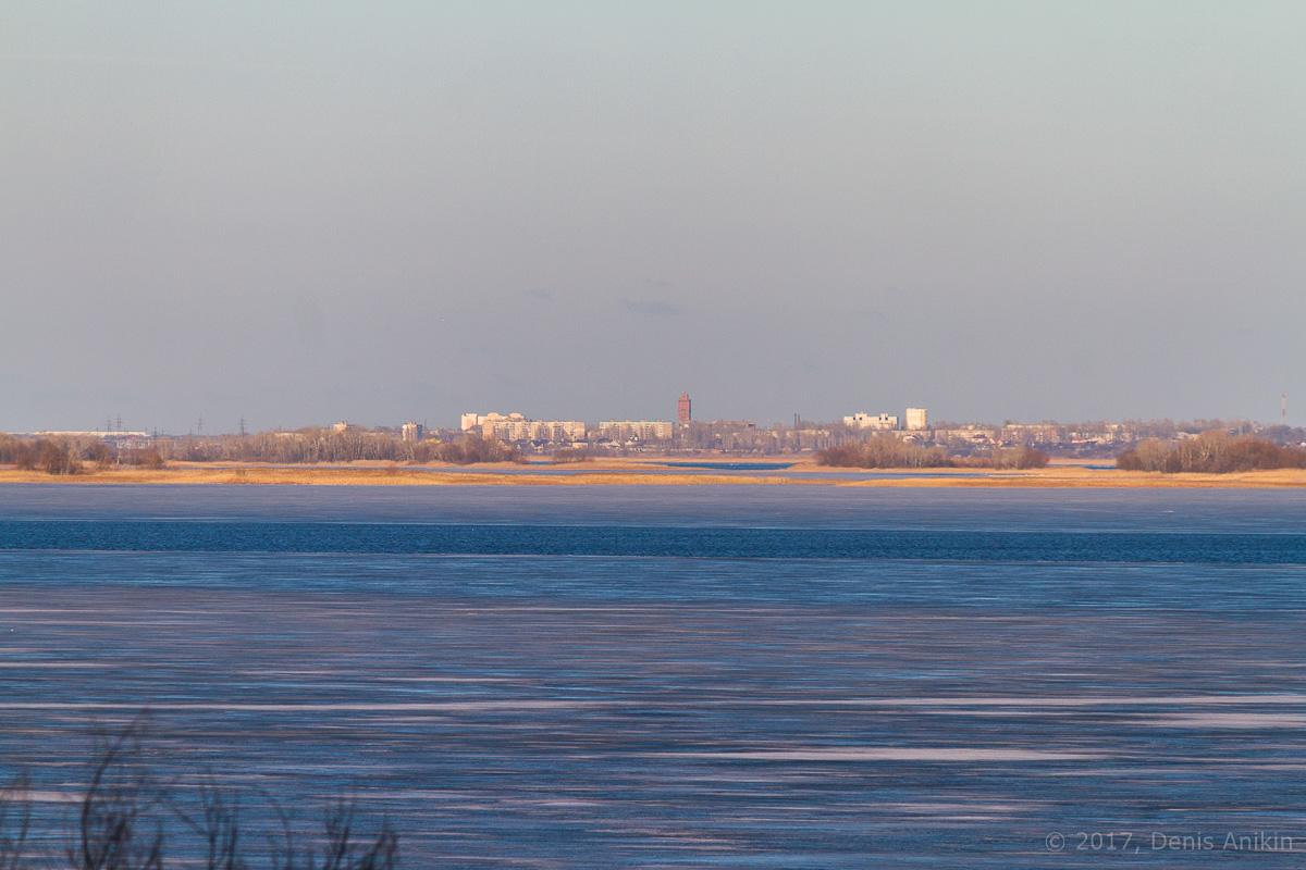 Волга весна лёд фото 3