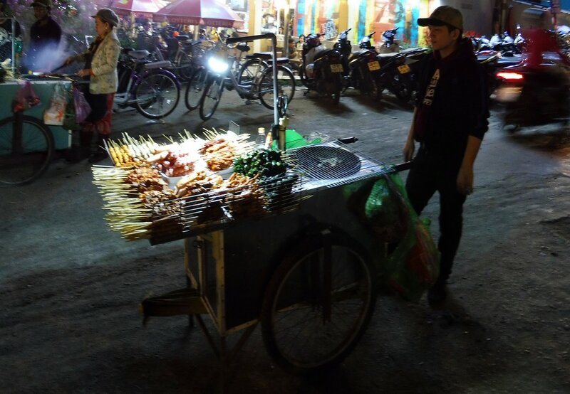 Прдавец морепродуктов