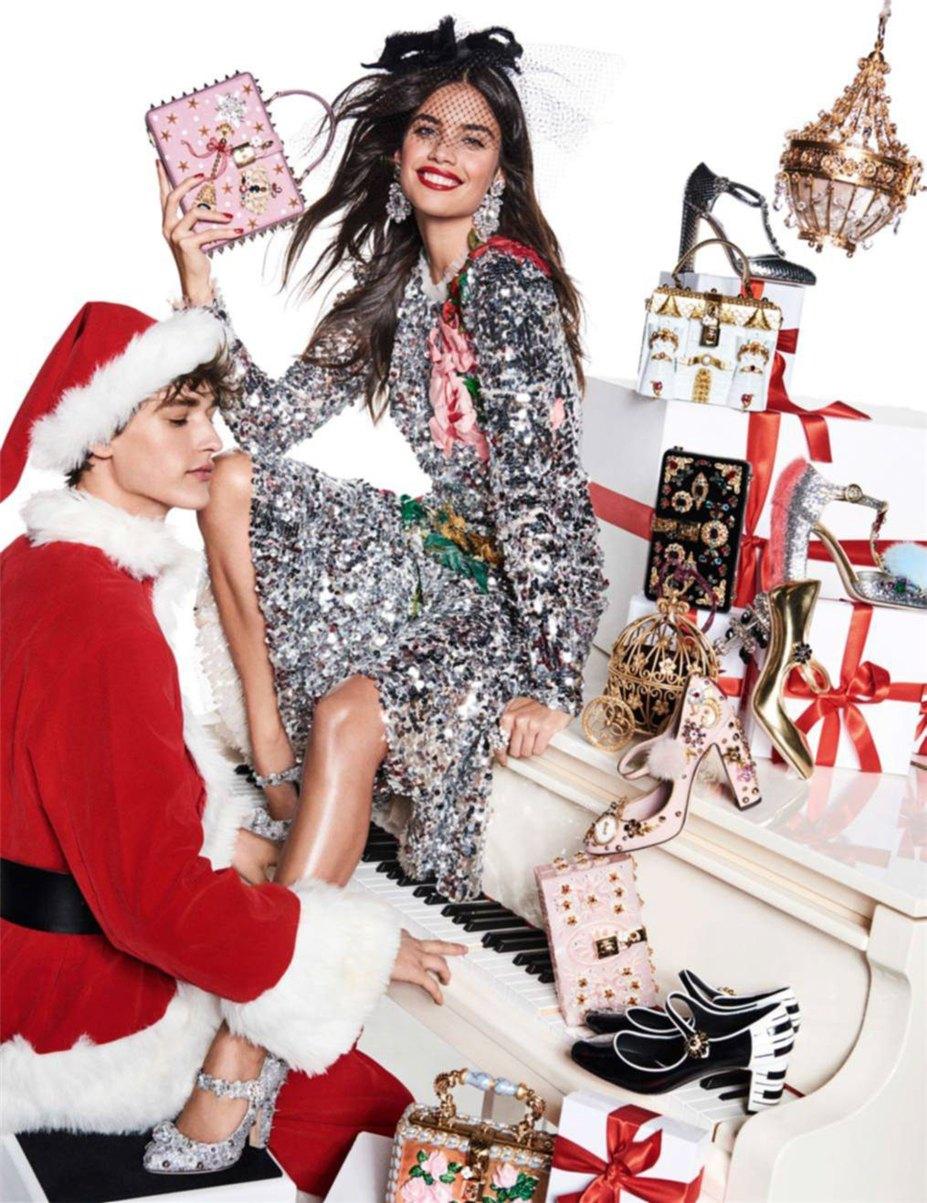 Стелла Максвелл и Сара Сампайо / Sara Sampaio, Stella Maxwell by Giampaolo Sgura - Vogue Paris december 2016 / january 2017