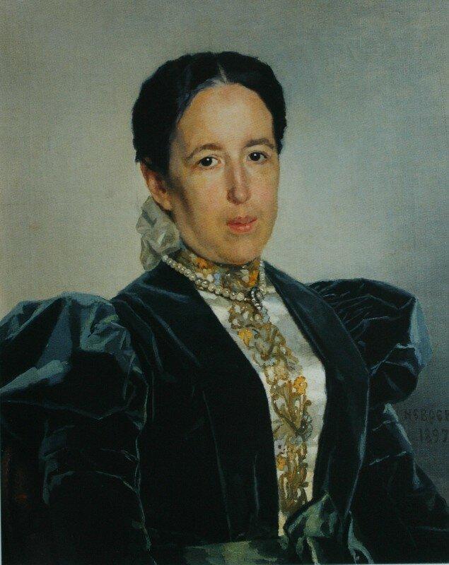 Портрет Н.М.Гартунг  1897   ГТГ.