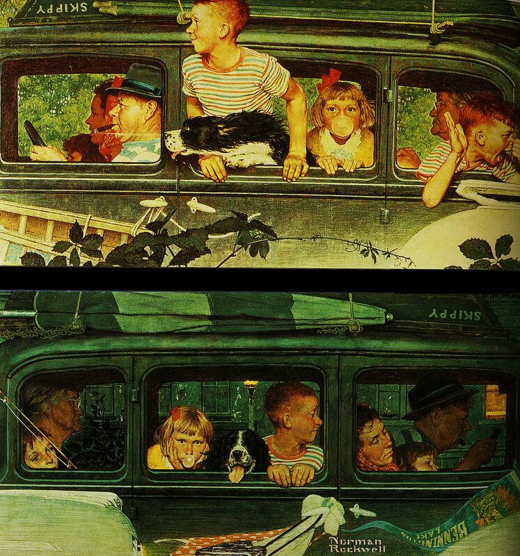 Доброе от художника Нормана Роквелла