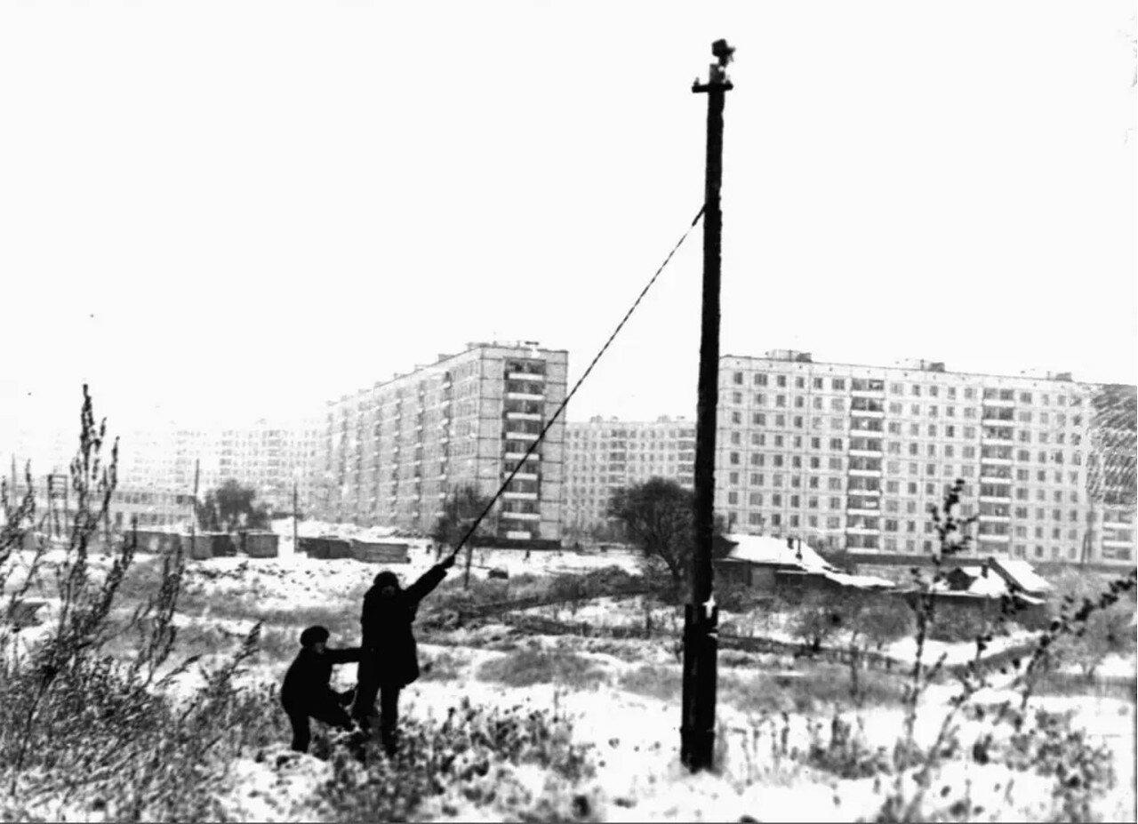 1973. Вид на новые дома от Молоткиной горы