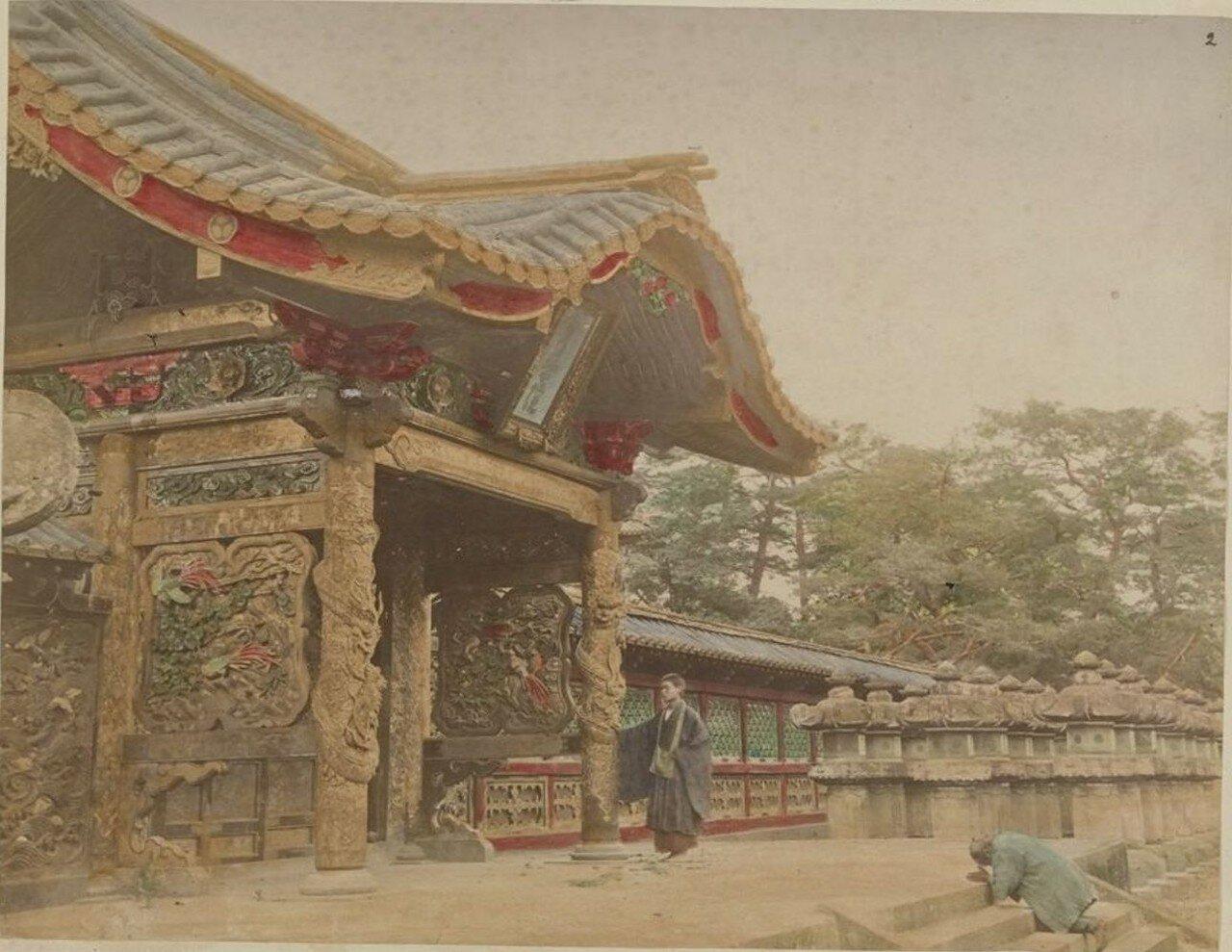 Токио. Храм в парке Шиба