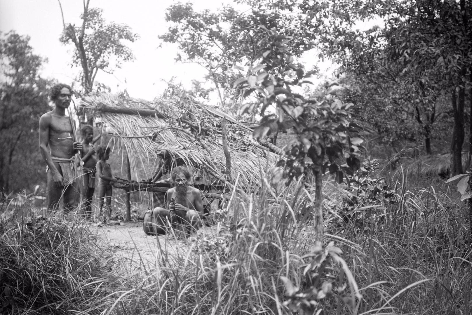 171. Группа веддов в долине Дани-Гала