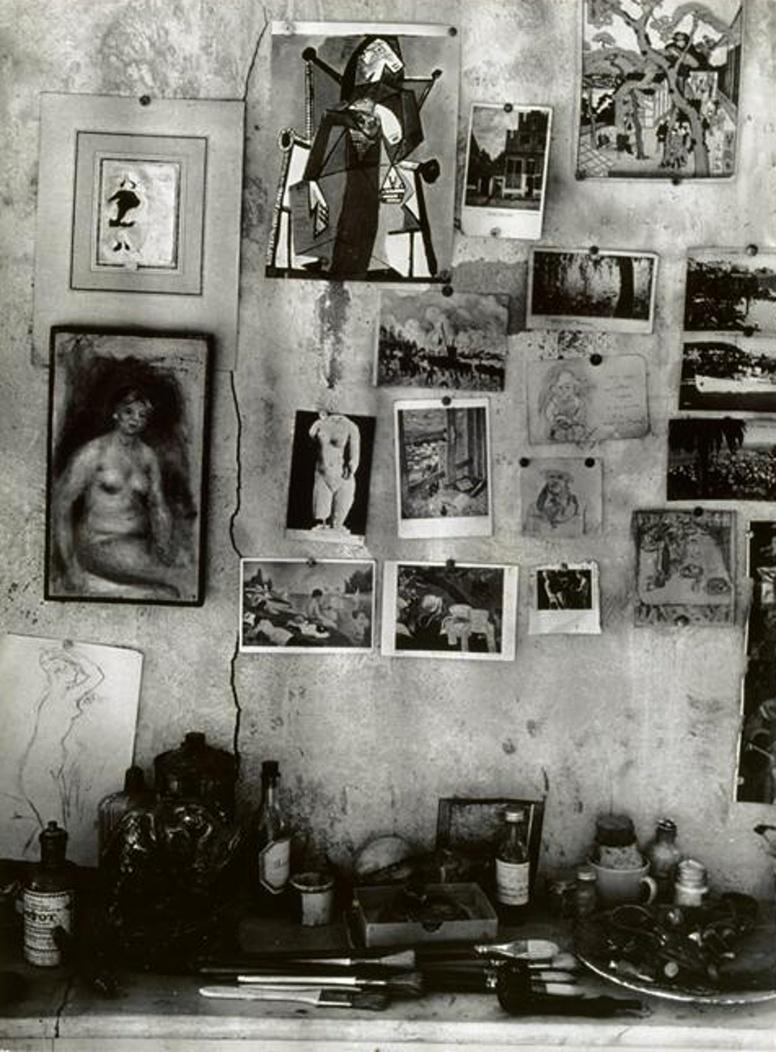 1946. Стены мастерской Пьера Боннара