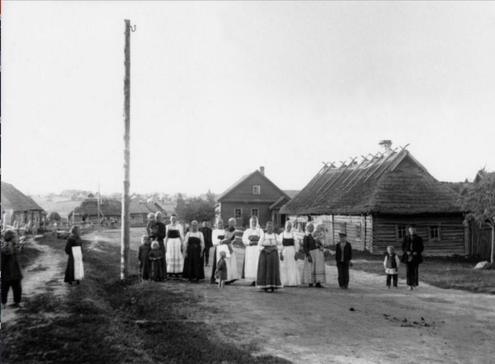 Пахомовка. Жители деревни