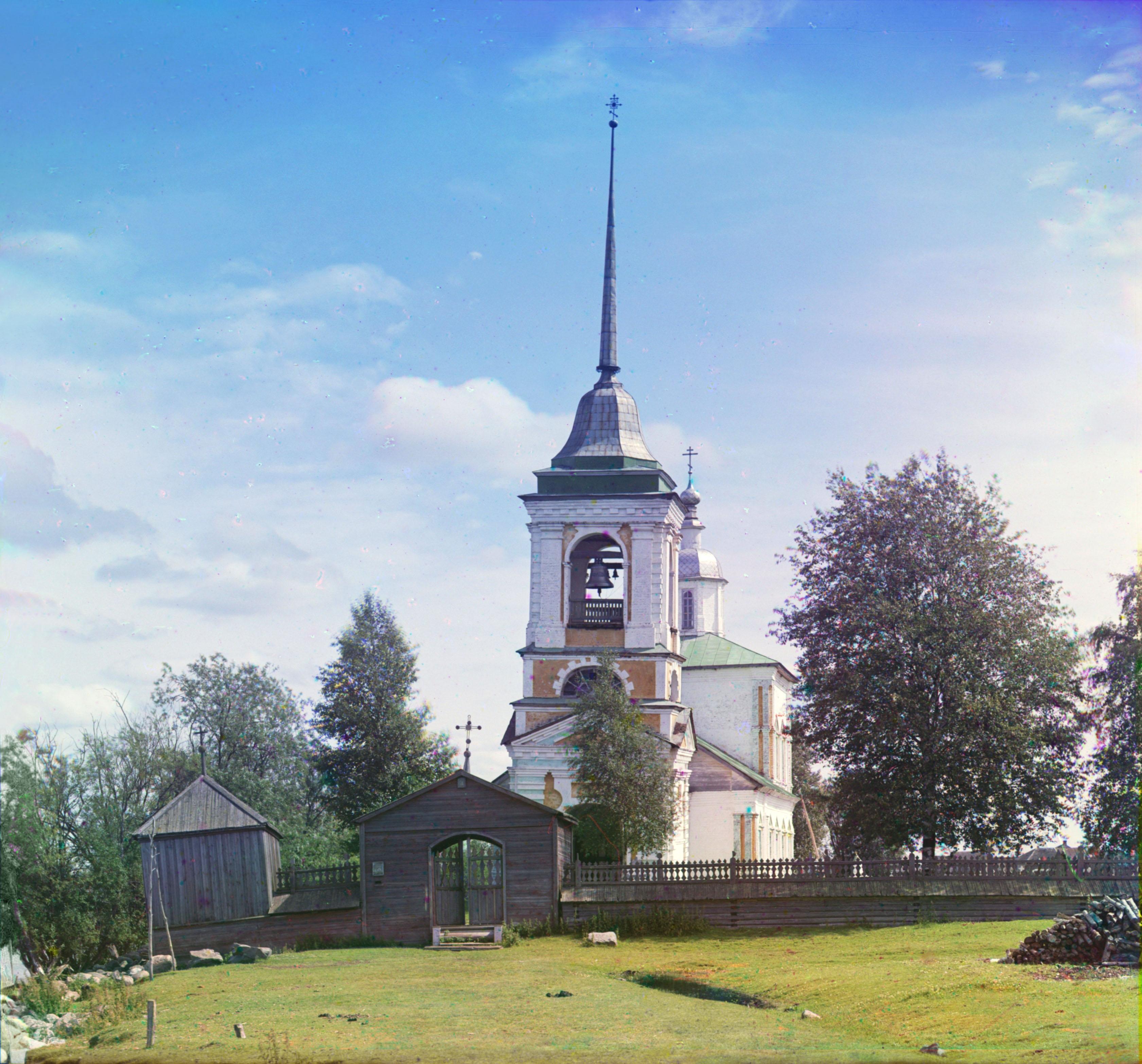 Село Каргулино. Церковь Троицы Живоначальной