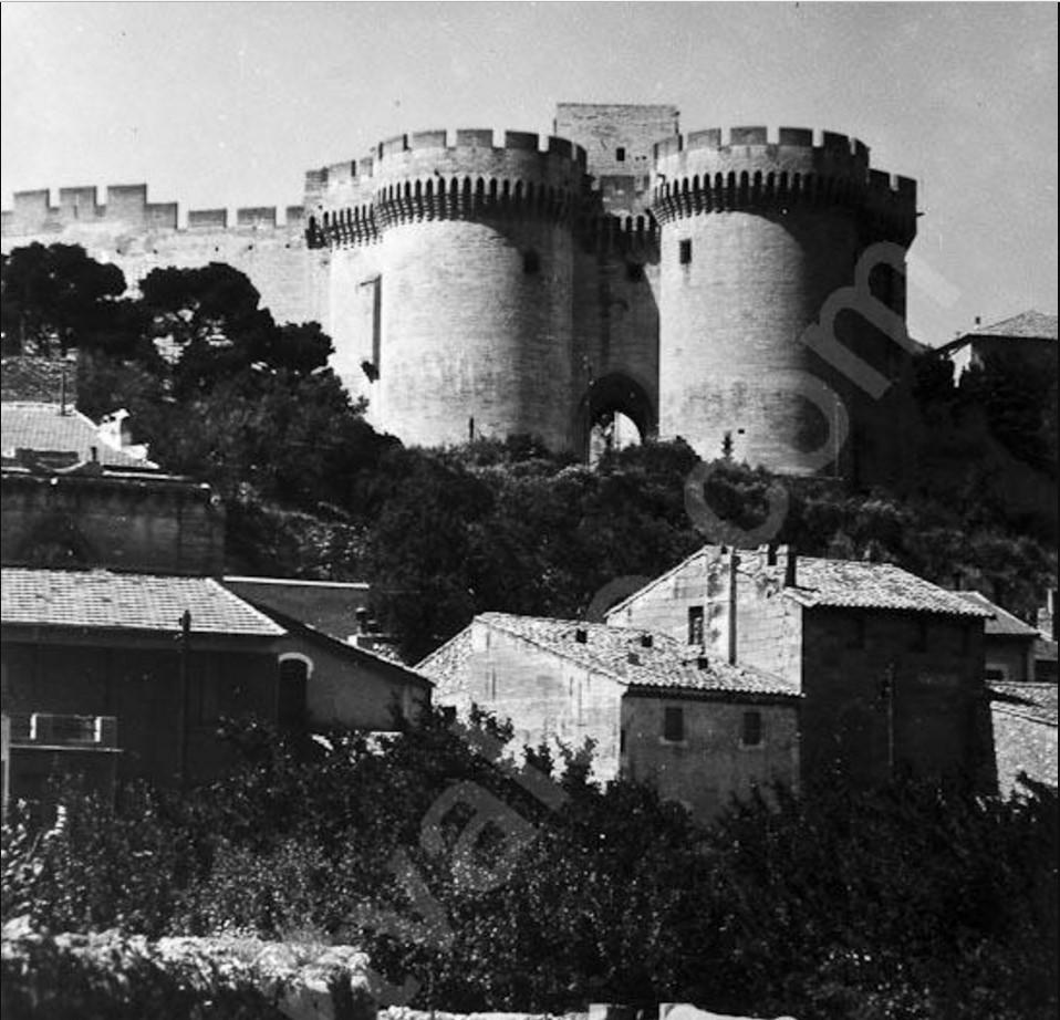 1950. Вильнёв-лез-Авиньон, форт Сент-Андре