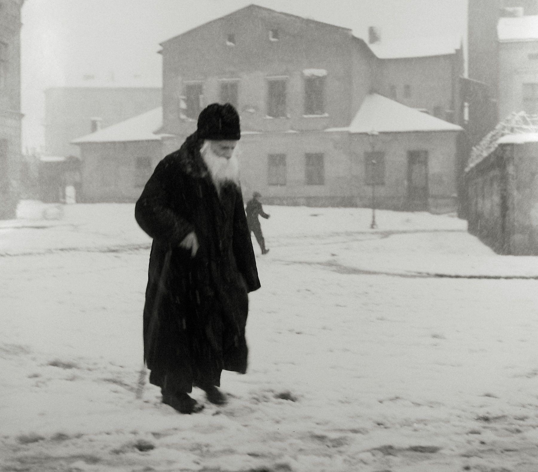 На площади в еврейском районе Казимеж. 1938