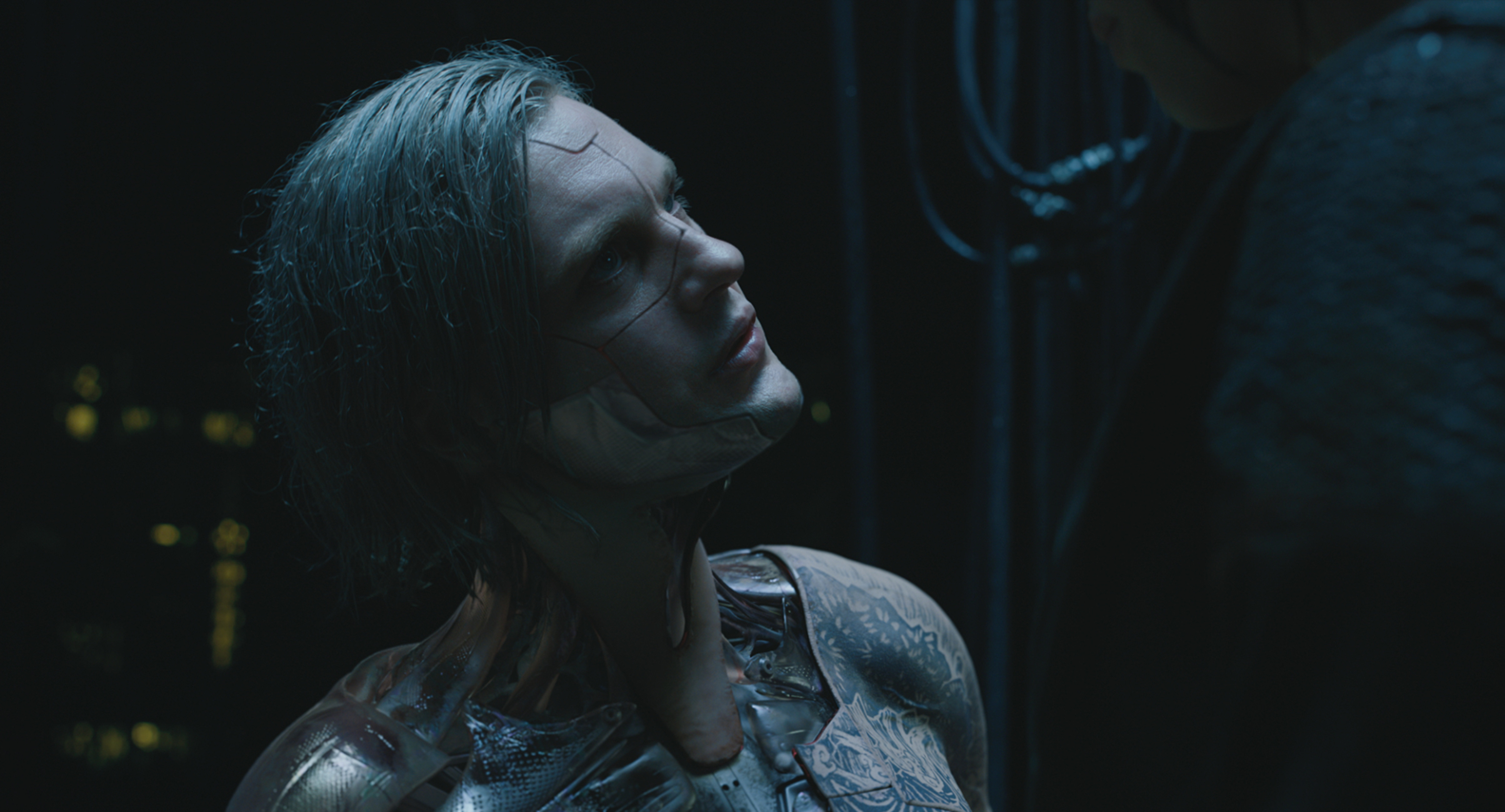 Michael Carmen Pitt plays Kuze in Ghost in the Shell from Paramount Pictures and DreamWorks Pictures.