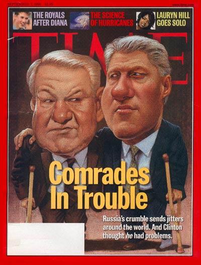 19980907-Boris Yeltsin - Bill Clinton