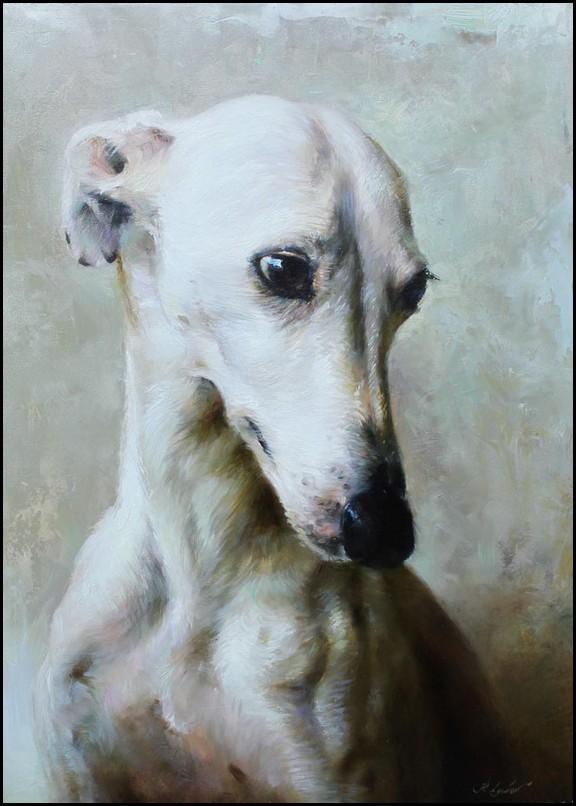 Собаки / художник Регина Любовная