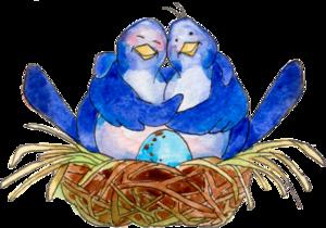 птички в гнезде