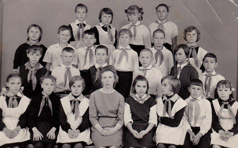 Славгород, школа №13, 1966 год.