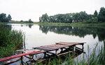 Пирс на озере Сегма